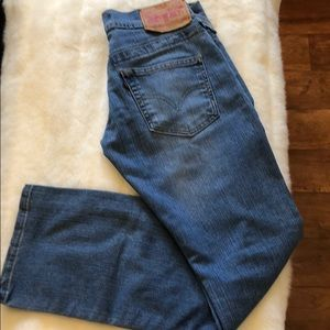 Levi's 513 boot cut slouch jeans size 3M